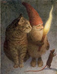 домовой с котом сонник