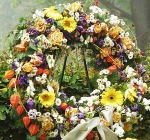 похоронный венок сонник