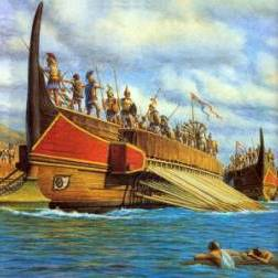Древнего Рима мореплавание