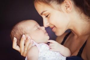родимые пятна у детей и их фото