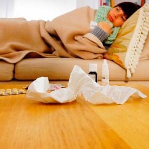 подвержена различным сезонным вирусным заболеваниям