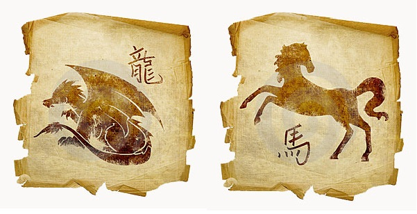 Дракон и Лошадь совместимость пары: романтические отношения и быт в семье.