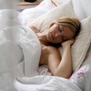 Сон с понедельника на вторник