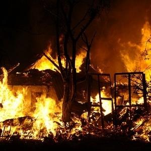 Смерть при пожаре