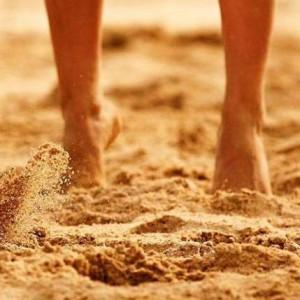 Песок под ногами