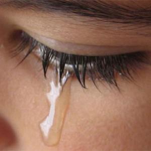 Рыдать со слезами