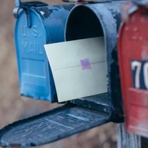 В почтовом ящике