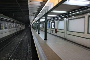 пустынное метро