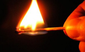 разжигание костра