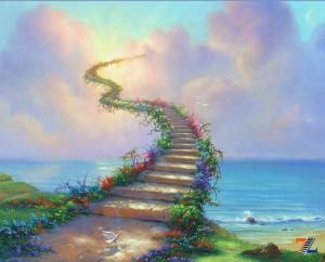 сон лестница