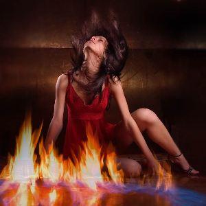 Если сон с огнем привиделся женщине