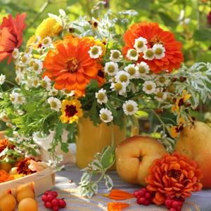 Видеть яркий сон с фруктами и цветами