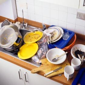 Почему нельзя оставлять грязную посуду