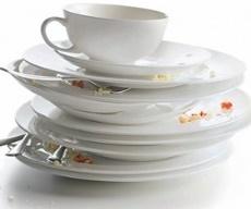 оставлять грязную посуду