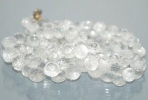 ожерелье из хрусталя