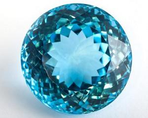 шар голубой топаз