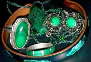 зеленые малахиты