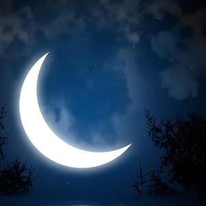 Чтение заговора на убывающую луну