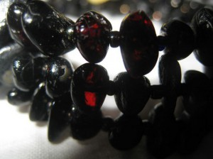 черный янтарь