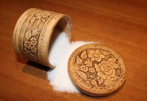 рассыпаная соль