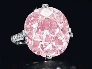 розовый бриллиант