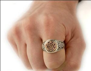 валькирия оберег кольцо