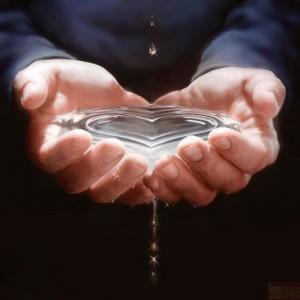 Снятие негатива святой водой