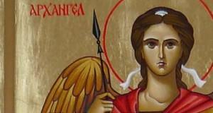 архангел михаил на иконе