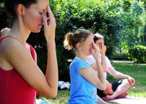 обучение дыхательной гимнастике