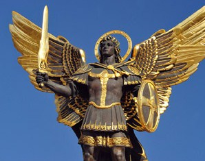 памятник михаилу архангелу