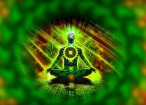 расположение зеленой чакры
