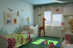 detskaya po fen shuy 300x200 - Расстановка мебели по фен шуй: правила и особенности