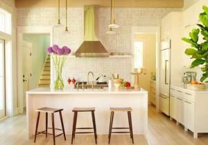 особенности расстановки мебели на кухне