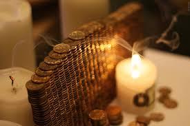 монеты со свечами