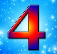 Цифра 4 в нумерологии означает энергию и равенство
