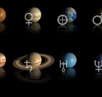 Обозначение планет в астрологии и их расшифровка по натальной карте