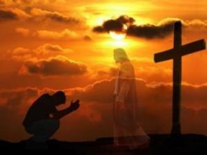 молитвы перед крестом