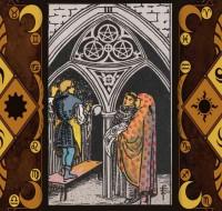 3 тройка пентаклей в таро: значение Младшего Аркана