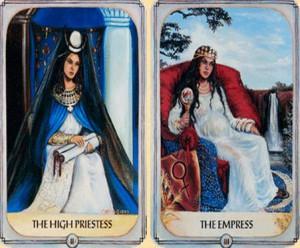 две карты императрицы