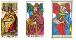 Особенности толкования карты таро Верховная жрица (жрица, папесса)